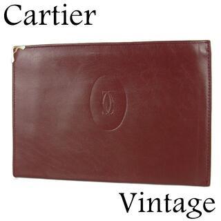 カルティエ(Cartier)のカルティエ マストライン スリム ポーチ マルチケース 小物入れ ミニ バッグ(ポーチ)