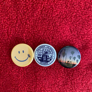 ロンハーマン(Ron Herman)のロンハーマン缶バッジ3個セット(バッジ/ピンバッジ)