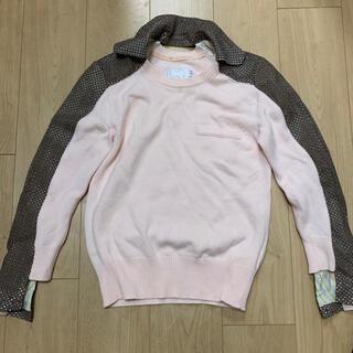 サカイ(sacai)のsacai サカイ デザイントップス サイズ1(ニット/セーター)