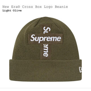 Supreme - Supreme New Era® Cross Box Logo Beanie