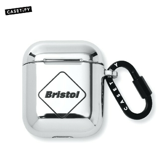 エフシーアールビー(F.C.R.B.)のF.C.Real Bristol AirPods CASE SILVER(その他)