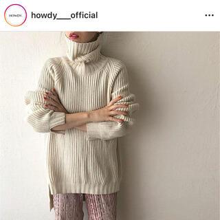 ZARA - howdy over turtle knit