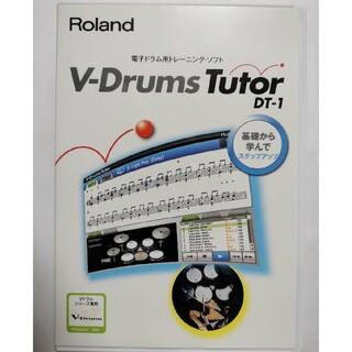 Roland 電子ドラム DT-1 ソフトV-Drums Tutor ローランド(その他)
