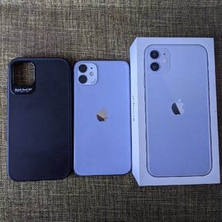 iPhone - iPhone11 128G purple simフリー