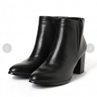 レプシィム(LEPSIM)のゴアヒールブーツ ブラック Lサイズ(ブーツ)