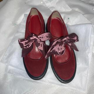 メリージェニー(merry jenny)のmerry jenny リボンローファー(ローファー/革靴)
