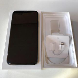Apple - iPhoneX 64GB SIMフリー スペースグレイ 美品