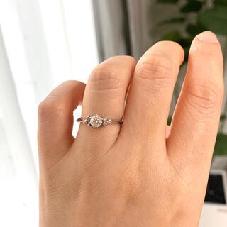 デビアス(DE BEERS)の《確認用》FOREVERMARK フォーエバーマークブラックレーベルダイヤモンド(リング(指輪))