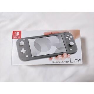 Nintendo Switch - Nintendo Switch Lite グレー 美品