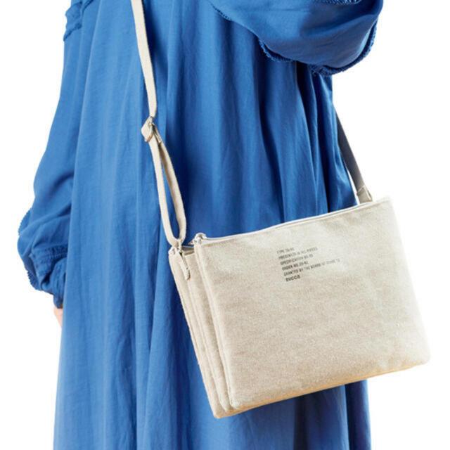 ZUCCa(ズッカ)の【新品】 3層ポケットが便利 ZUCCa 上品 マルチポシェット レディースのバッグ(ショルダーバッグ)の商品写真