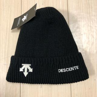 デサント(DESCENTE)のデサントゴルフニット帽子(その他)