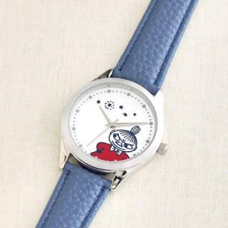 クックパッドプラス 付録 ムーミン リトルミイ 腕時計