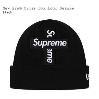 Supreme - Supreme  Cross Box Logo Beanie black 黒