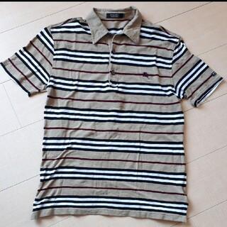 バーバリー ボーダーポロシャツ サイズ2