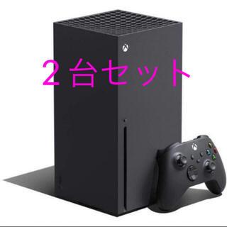 エックスボックス(Xbox)の新品未開封 Xbox Series X 本体 マイクロソフト Microsoft(家庭用ゲーム機本体)