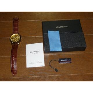 セイコー(SEIKO)の新品 電池交換済 ゴールド YGP ケース&ダイヤル クロノグラフ(腕時計(アナログ))