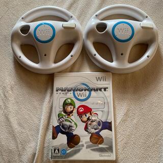 Wii - マリオカート ハンドルセット