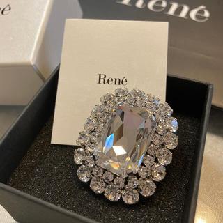 René - Rene♡  ビジューブローチ 新品同様