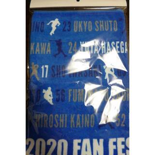 フクオカソフトバンクホークス(福岡ソフトバンクホークス)のホークス2020ファンフェスタオル【どんたくブルー】(応援グッズ)