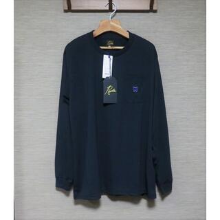 ニードルス(Needles)のNeedles L/S Crew Neck Tee Poly Jersey M(Tシャツ/カットソー(七分/長袖))