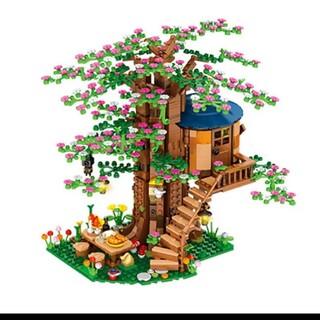 【レゴ互換】ツリーハウス ブロック 新品