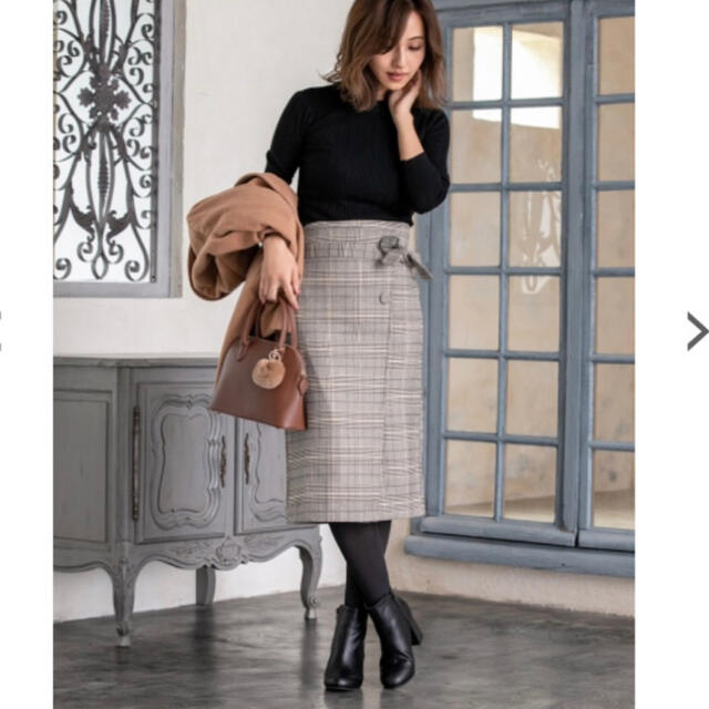 fifth(フィフス)のfifth チェック スカート レディースのスカート(ひざ丈スカート)の商品写真