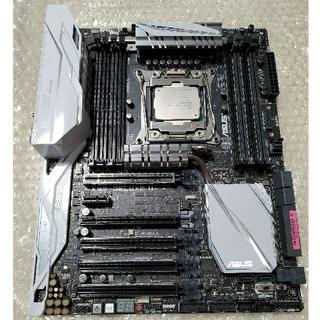 エイスース(ASUS)のX99 DELUXE    REV1.02 & Xeon E5 4650 v3(PCパーツ)