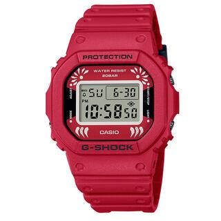 G-SHOCK - カシオ G-SHOCK 縁起物 達磨 腕時計 DW-5600DA-4JR だるま