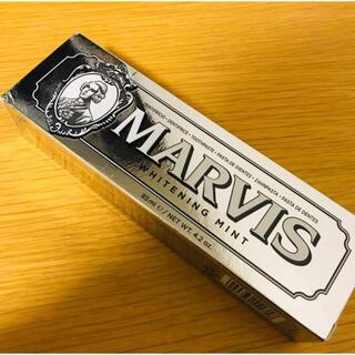 マービス(MARVIS)のMARVIS ホワイトニング 歯磨き粉 85ml(歯磨き粉)