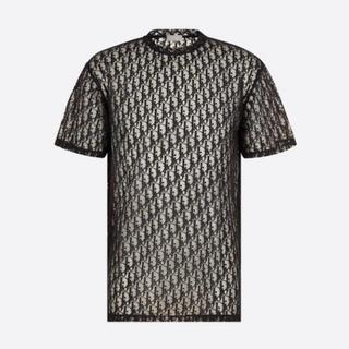 DIOR HOMME - 新作 新品未使用 Dior Oblique Tシャツ ブラック L