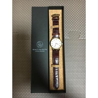 ビューティアンドユースユナイテッドアローズ(BEAUTY&YOUTH UNITED ARROWS)のBEAUTY&YOUTH UNITEDARROWS 腕時計(腕時計)