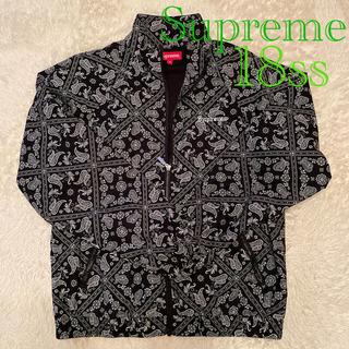 シュプリーム(Supreme)のSupreme❤Bandana Track Jacket(ナイロンジャケット)
