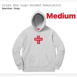 Supreme - Supreme box logo cross hooded シュプリーム