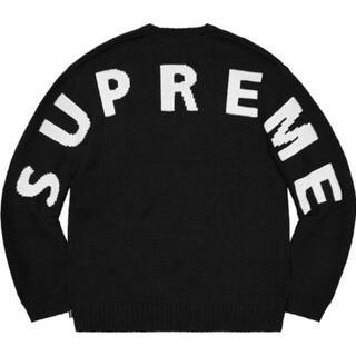 Supreme - Supreme Back Logo Sweater 20ss