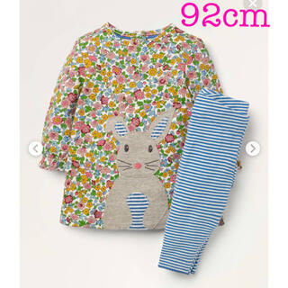 ボーデン(Boden)の【完売品 新品】   ミニボーデン ワンピース&レギンスセット92cm(Tシャツ/カットソー)