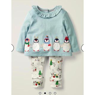 ボーデン(Boden)の【完売品 新品】  ミニボーデン  ペンギンプレイセット(Tシャツ/カットソー)