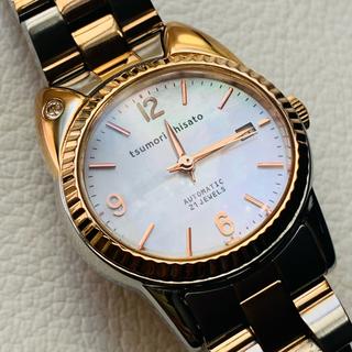 TSUMORI CHISATO - ツモリチサト 自動巻き 美品 腕時計 コンビネーション