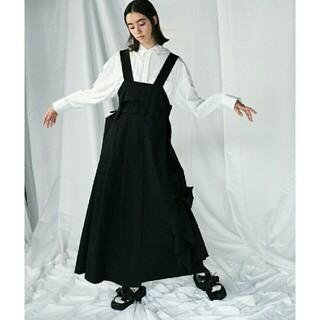 ENFOLD - Enfold Fine WO ギャバ デザイン ジャンパースカート