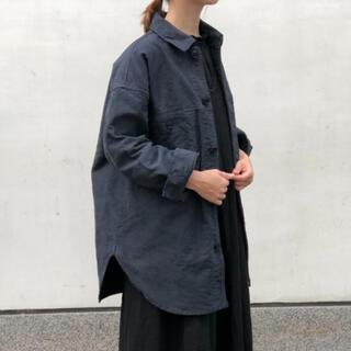 ネストローブ(nest Robe)のネストローブ コットンモールスキンビッグシャツジャケット(その他)