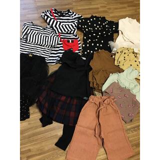 アンバー(Amber)の未使用 女の子 韓国子供服 100 まとめ セット 最終価格(その他)