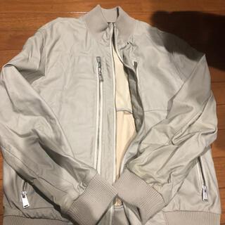 カルバンクライン(Calvin Klein)のカルバンクライン 革ブルゾン(レザージャケット)