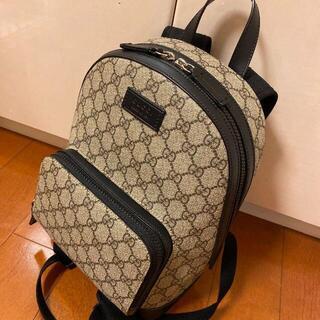 Gucci - GGスプリーム キャンバス スモール バックパック