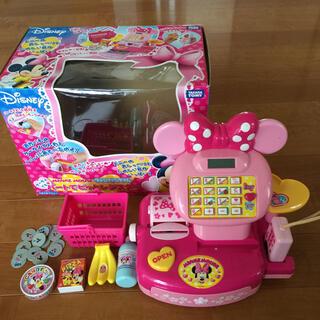 タカラトミー(Takara Tomy)のディズニー おもちゃ ミニーマウス ファンファンタイム ハートでピッとレジスター(知育玩具)