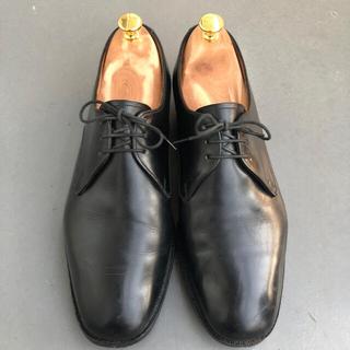 クロケットアンドジョーンズ(Crockett&Jones)のラルフ様専用 クロケットアンドジョーンズ プレーントゥシューズ 革靴 uk8(ドレス/ビジネス)