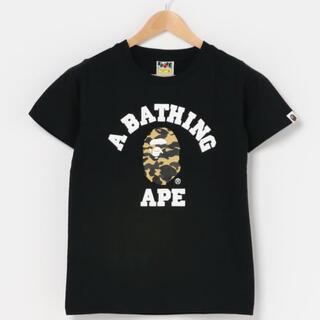 A BATHING APE - 【BAPE】人気XS 半袖Tシャツ