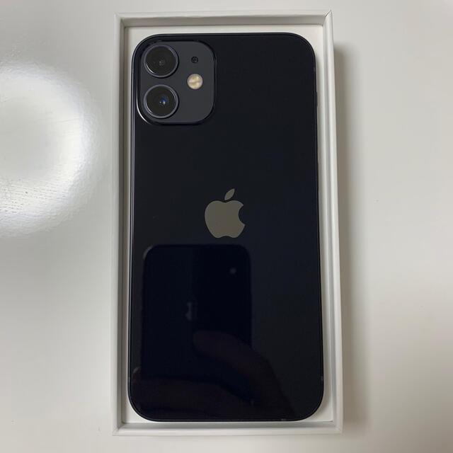 Apple(アップル)のiPhone12 mini 128GB SIMフリー ブラック スマホ/家電/カメラのスマートフォン/携帯電話(スマートフォン本体)の商品写真
