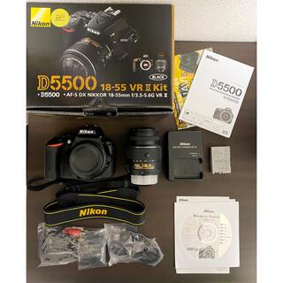 Nikon - Nikon D5500 18-55 VR2 レンズキット BLACK