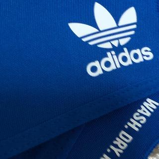 adidas - adidas アディダス マスクカバー ブルー M/L 大人用 3枚 新品未開封