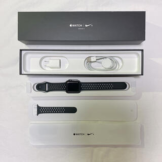 Apple Watch - Apple Watch Series 3 +nike GPS 42mm 中古