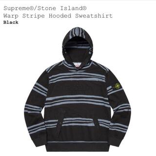 シュプリーム(Supreme)のSupreme/stone island hooded sweatshirt(パーカー)